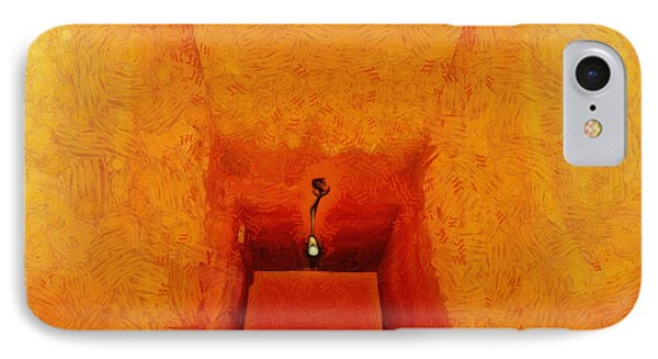 Hallway - Da IPhone Case by Leonardo Digenio