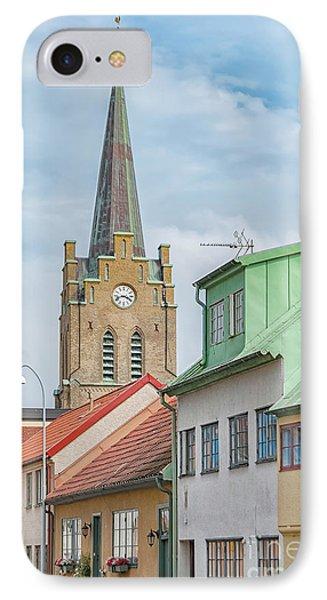 IPhone Case featuring the photograph Halmstad Street Scene by Antony McAulay