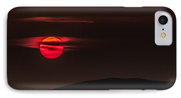 Haloed Sunset IPhone Case by Tim Kirchoff