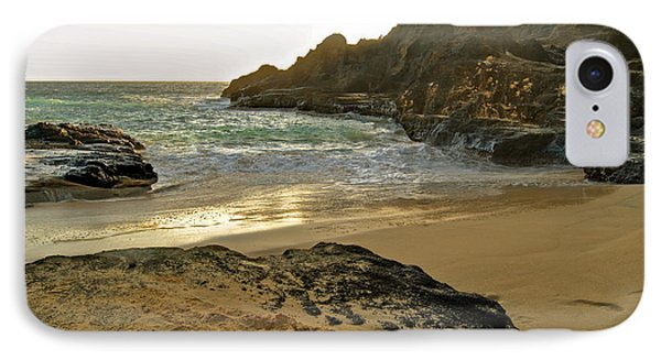 Halona Beach Cove Phone Case by Michael Peychich