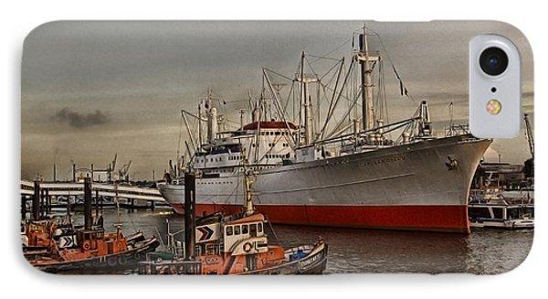 Hamburg Harbor IPhone Case
