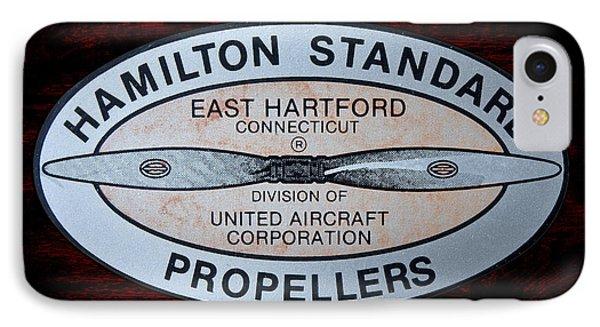 Hamilton Standard East Hartford IPhone Case by Olivier Le Queinec