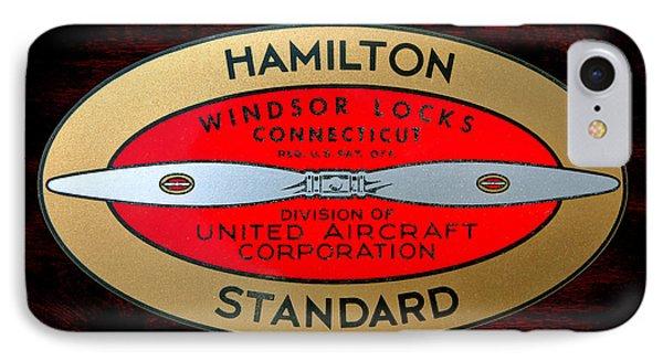 Hamilton Standard Windsor Locks IPhone Case by Olivier Le Queinec
