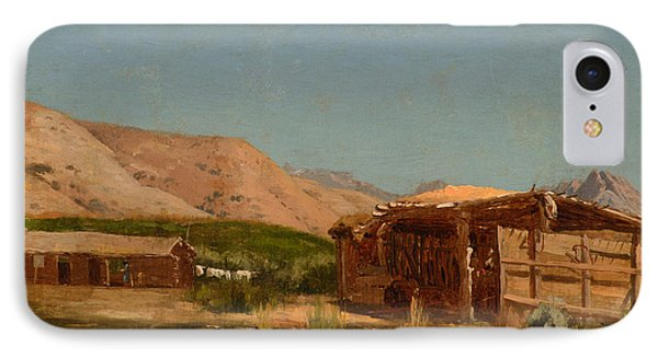 Hamilton's Ranch Nevada  IPhone Case