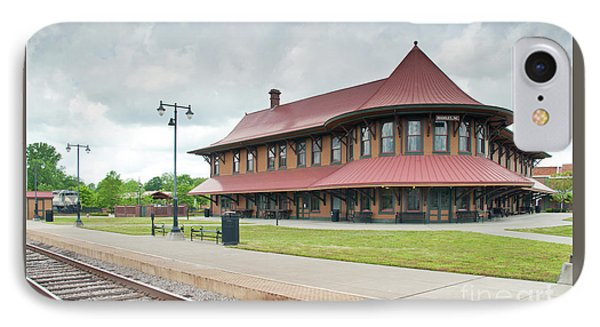 IPhone Case featuring the photograph Hamlet North Carolina Depot by John Black