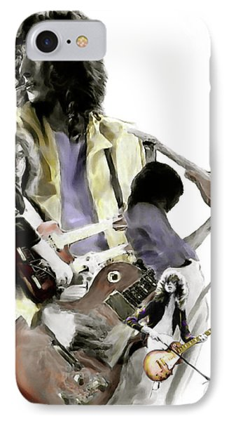 Hammer Of The Gods   Jimmy Page Phone Case by Iconic Images Art Gallery David Pucciarelli