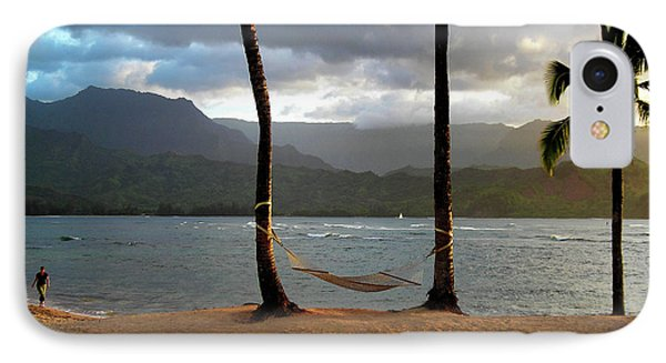 Hammock At Hanalei Bay IPhone Case