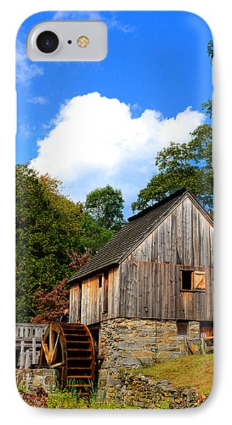 Hammond Gristmill Rhode Island IPhone Case by Lourry Legarde