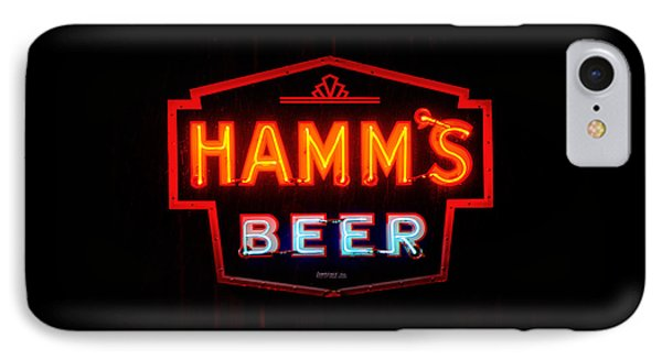 Hamm's Beer IPhone Case by Susan  McMenamin
