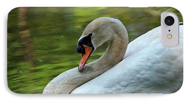 Hammy Swan IPhone Case by Ronda Ryan