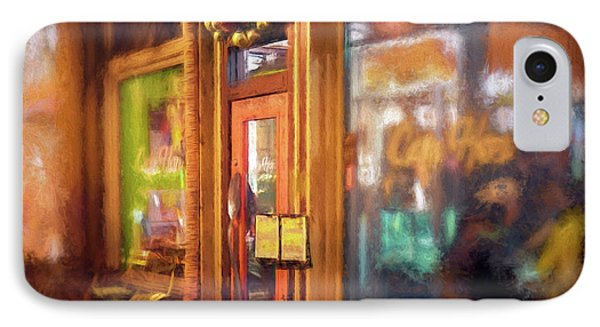 Hampden Cafe IPhone Case by Glenn Gemmell