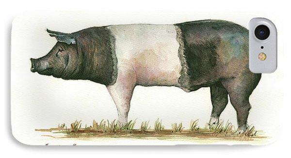 Hampshire Pig IPhone Case