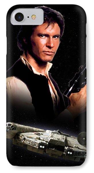 Han Solo IPhone Case by Paul Tagliamonte