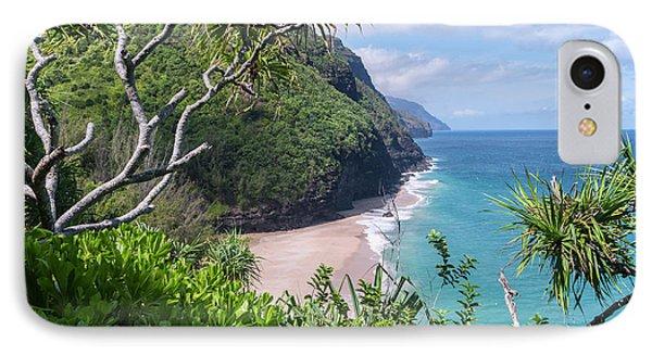 Hanakapiai Beach IPhone Case by Brian Harig