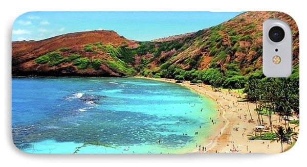 Hanauma Bay Nature Preserve IPhone Case by Kristine Merc