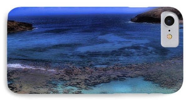 IPhone Case featuring the photograph Hanauma Bay Panorama by Ellen Heaverlo