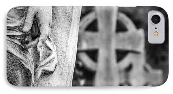 Hand And Cross IPhone Case