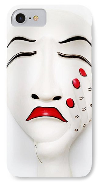 Hand On Face Mask  IPhone Case