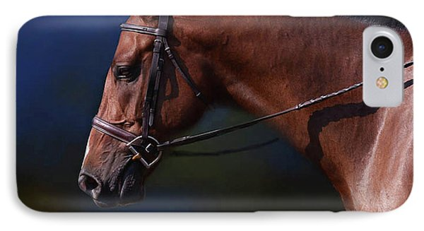 Handsome Profile IPhone Case by Kathy Russell