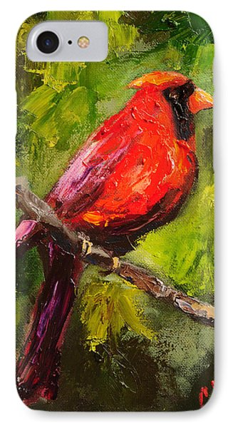 Handsome Red IPhone Case by Carole Foret