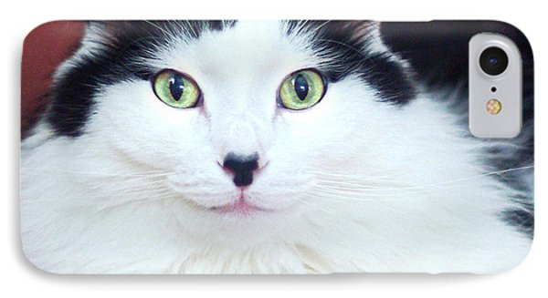 IPhone Case featuring the photograph Handsome Tuxy by Byron Varvarigos