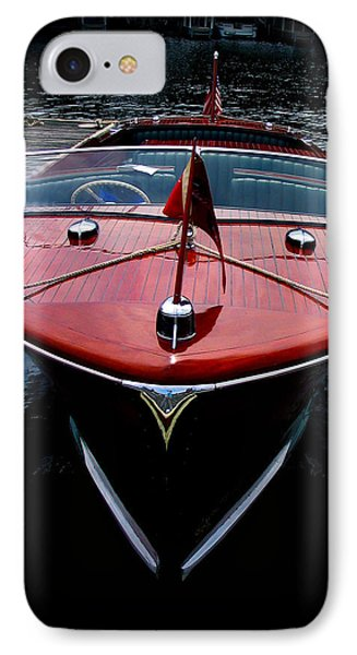 Handsome Wooden Boat IPhone Case