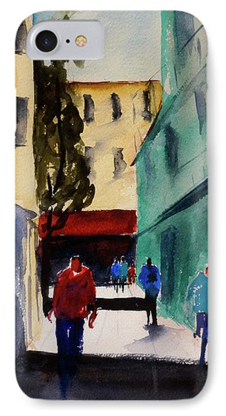 Hang Ah Alley1 IPhone Case by Tom Simmons