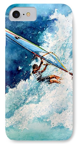 Hang Ten IPhone Case by Hanne Lore Koehler