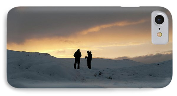 IPhone Case featuring the photograph Hanging Around Iceland by Dubi Roman