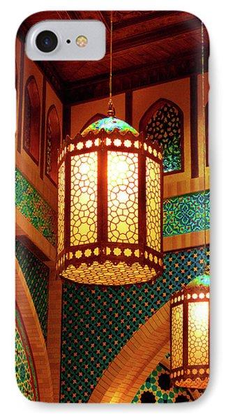Hanging Lanterns Phone Case by Farah Faizal
