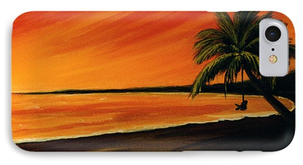 Hanging Out At The Beach #153 Phone Case by Donald k Hall