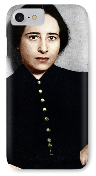 IPhone Case featuring the photograph Hannah Arendt by Granger