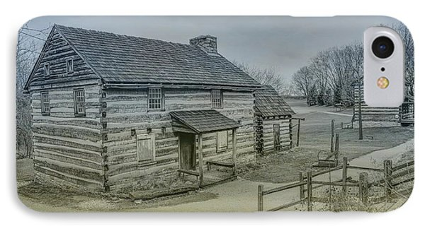 Hannastown Log Cabin Two IPhone Case