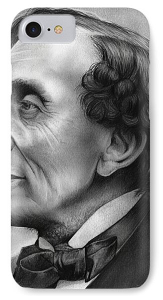 Hans Christian Andersen IPhone Case