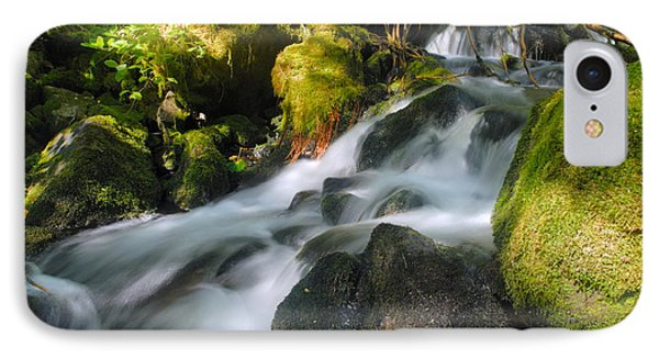 Hanson Falls IPhone Case by Larry Ricker