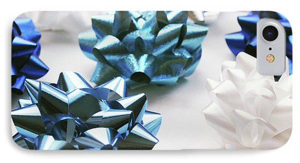 Hanukkah Bows- Photography By Linda Woods IPhone Case