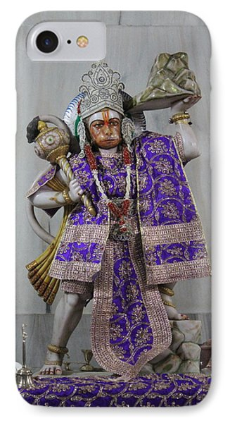 Hanuman Ji, Neem Karoli Baba, Vrindavan IPhone Case