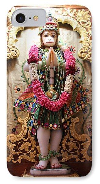 Hanuman Ji, Radha Gopinath Mandir, Mumbai IPhone Case