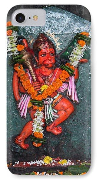 Hanuman Ji, Somewhere Near Ganeshpuri IPhone Case