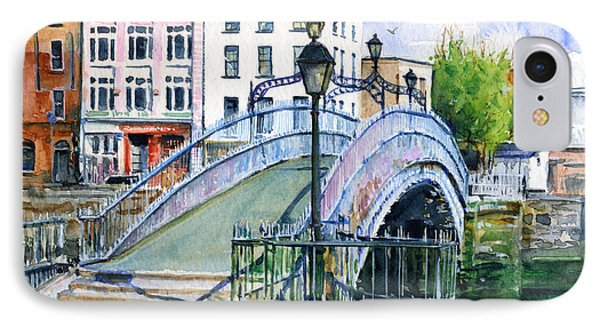 Ha'penny Bridge Dublin IPhone Case