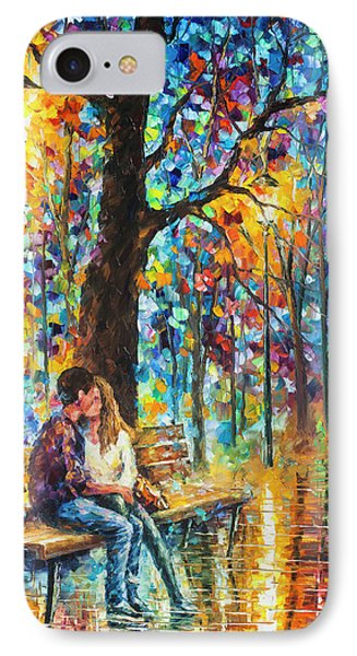 Happiness   Phone Case by Leonid Afremov