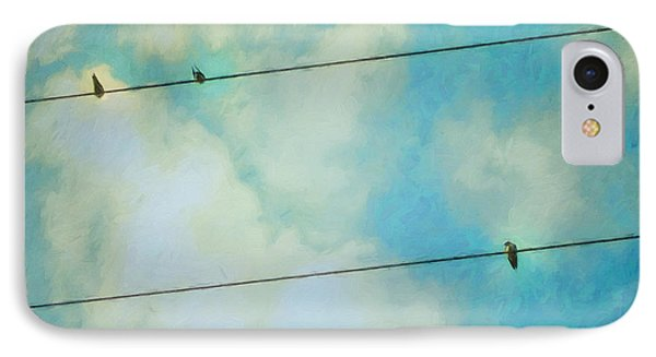 Happiness IPhone Case by Priska Wettstein