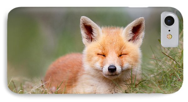 Happy Baby Fox IPhone Case