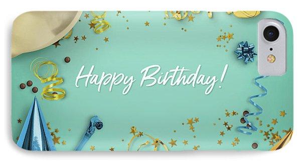 Happy Birthday Party Scene Layflat IPhone Case