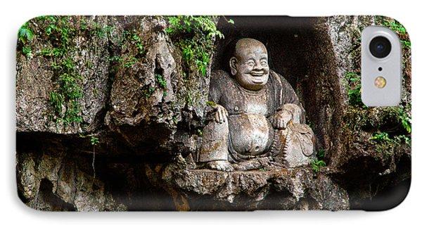 Happy Buddha IPhone Case by Harry Spitz