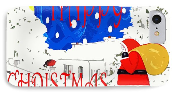 Happy Christmas 101 IPhone Case by Patrick J Murphy