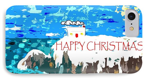Happy Christmas 106 IPhone Case by Patrick J Murphy
