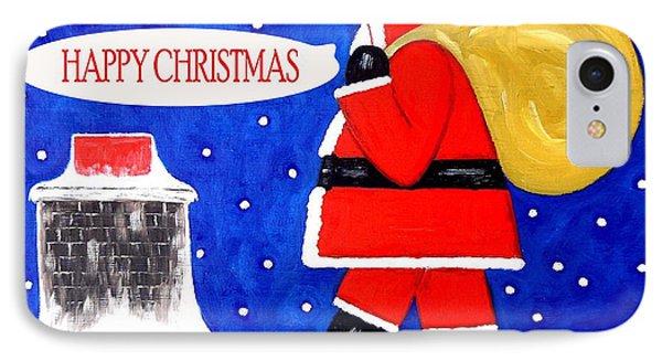 Happy Christmas 12 Phone Case by Patrick J Murphy