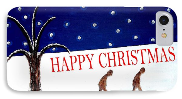 Happy Christmas 15 Phone Case by Patrick J Murphy