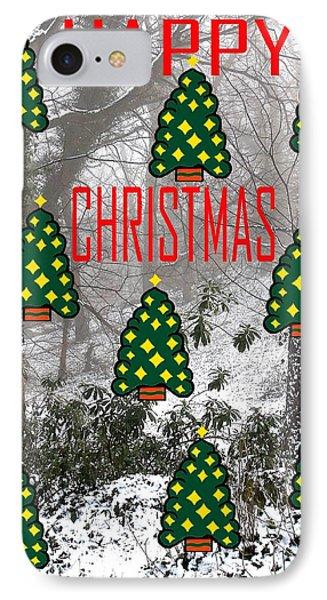 Happy Christmas 22 Phone Case by Patrick J Murphy